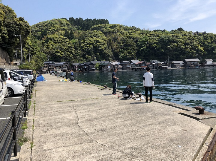 平田埋立地(京都・伊根)の釣り場情報