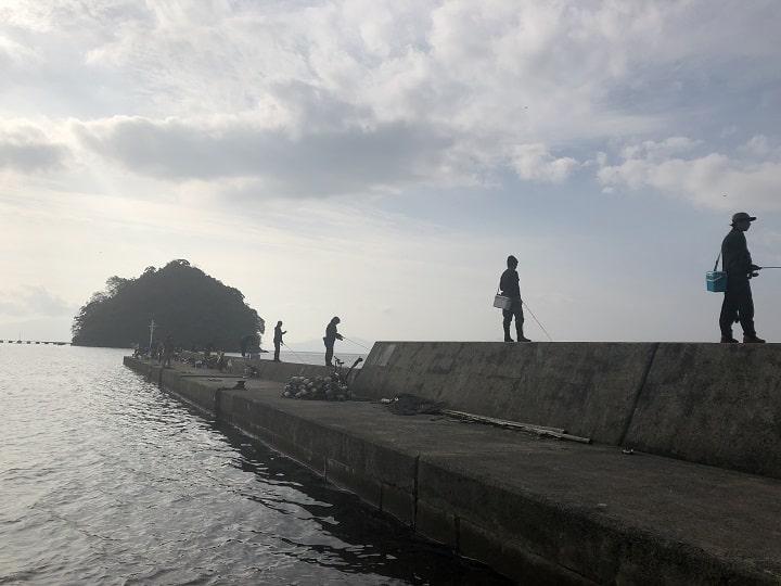 伊根網干場(京都・伊根)の釣り場情報 波止