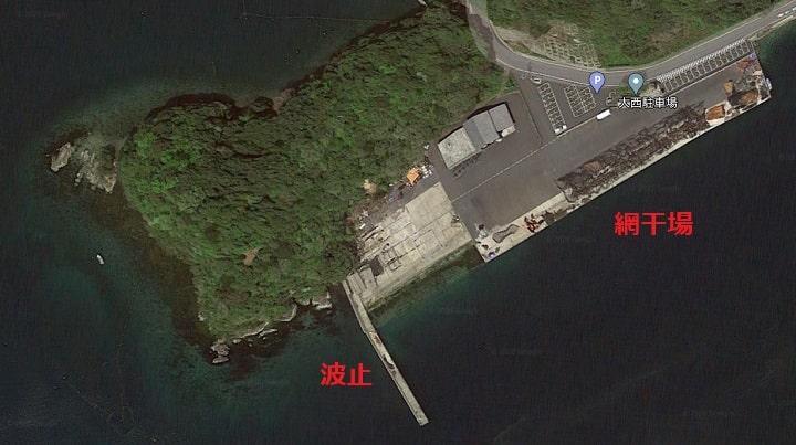 伊根網干場(京都・伊根)の釣り場情報 全景