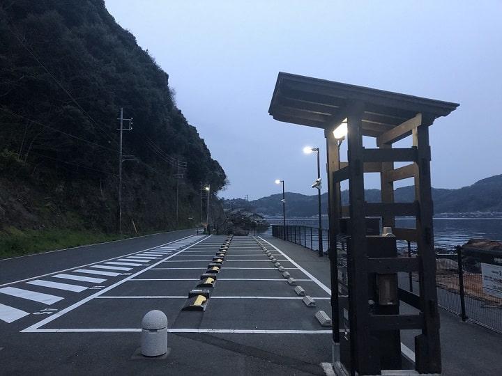 伊根網干場(京都・伊根)の釣り場情報 駐車場