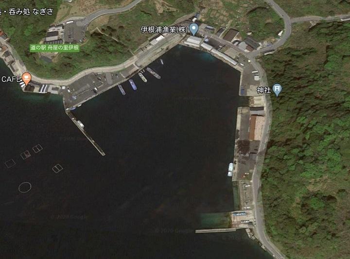 伊根漁港(京都・伊根)の釣り場情報 伊根漁港とは