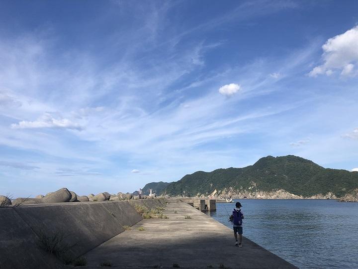 浜坂漁港・赤灯台(兵庫・浜坂)の釣り場情報 釣りポイント