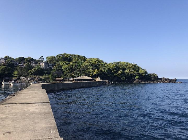 新井崎漁港(京都・伊根)の釣り場情報 釣りポイント
