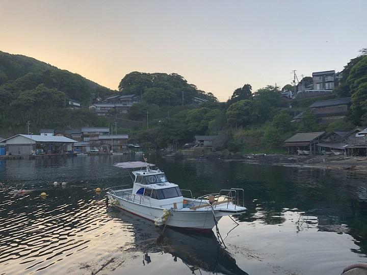新井崎漁港(京都・伊根)の釣り場情報 駐車場