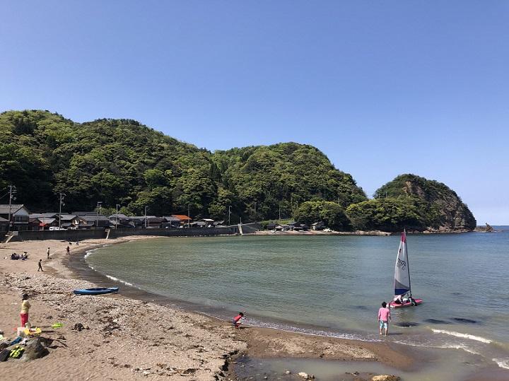 釣りファミ 釣り場情報 泊海水浴場 京都 伊根