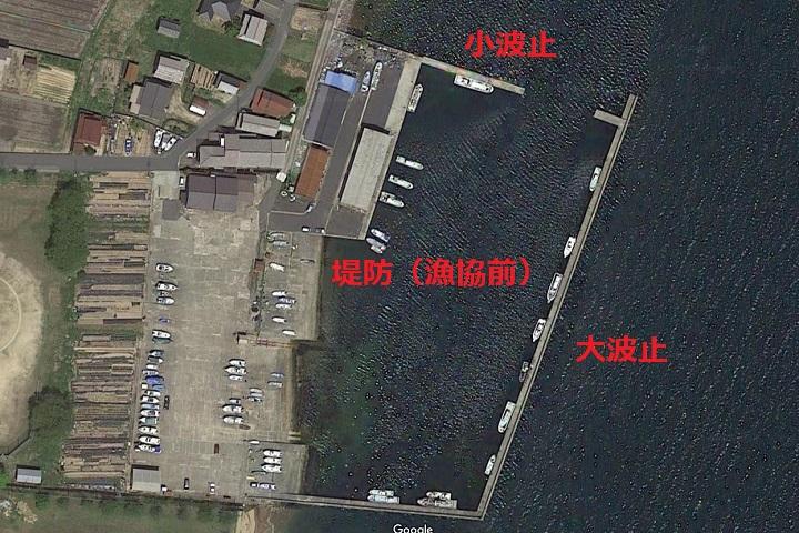 栗田漁港(京都・宮津)の釣り場情報