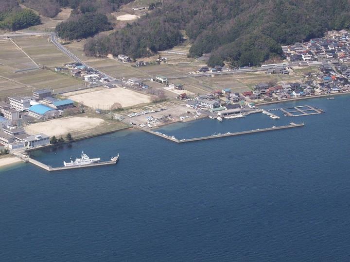 栗田漁港(京都・宮津)の釣り場情報 全景