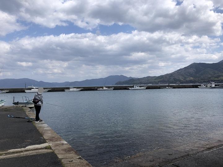 栗田漁港(京都・宮津)の釣り場情報 堤防・漁協前