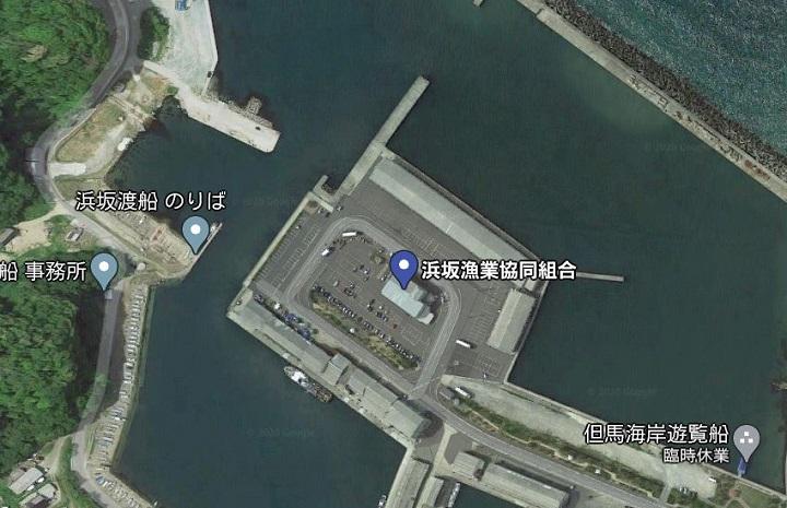 浜坂漁港・漁協前(兵庫・浜坂)の釣り場情報 釣りポイント