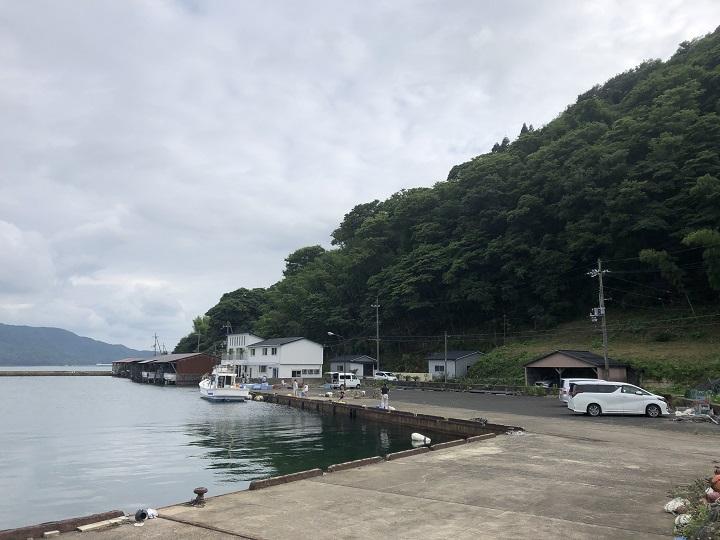 釣りファミ日記 釣り場情報 白杉漁港(京都・舞鶴)