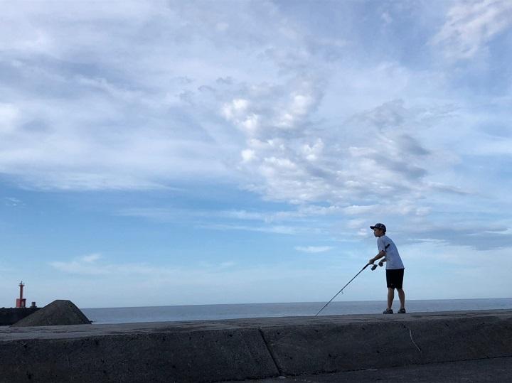 釣りファミ 釣りファミ日記 海キャンプ2日目2019