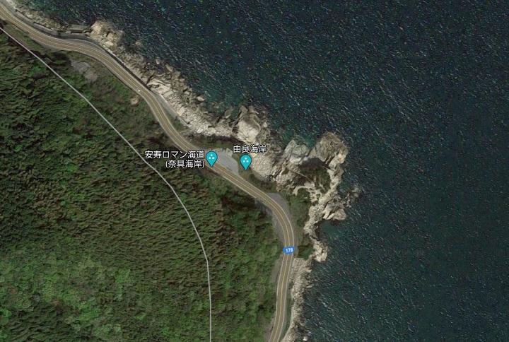 奈具海岸(京都・宮津)の釣り場情報