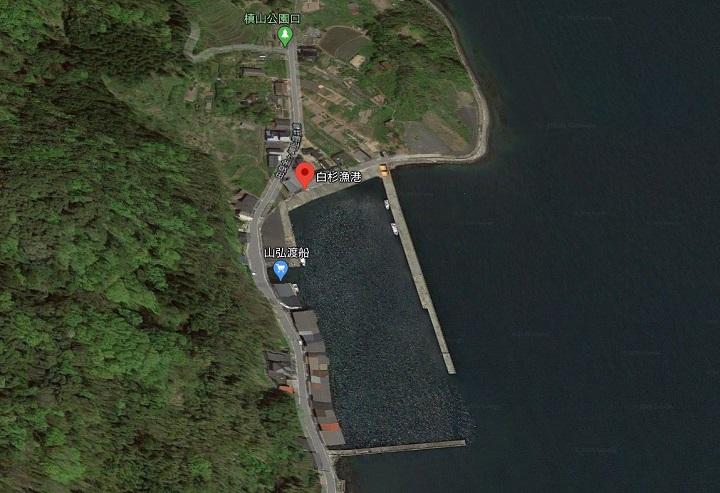 釣りファミ 白杉漁港(京都・舞鶴)の釣り場情報