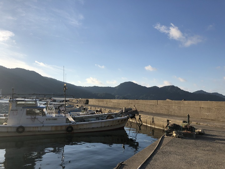 舞鶴田井漁港(京都・舞鶴)の釣り場情報01