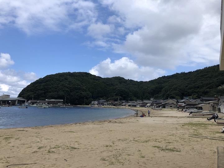 野原漁港(京都・舞鶴)の釣り場情報 海水浴場