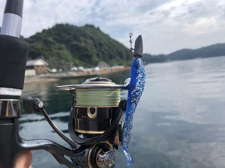 京都で釣り場に困ったら!子どももママも楽しめる初秋の伊根の海 スワールテールシャッド