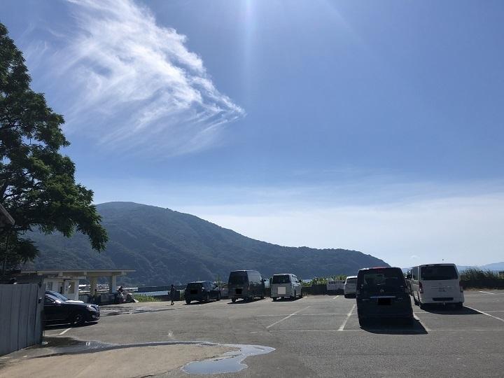 小橋漁港(京都・舞鶴)の釣り場情報 駐車場