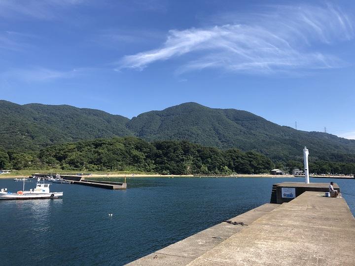 小橋漁港(京都・舞鶴)の釣り場情報 大波止9
