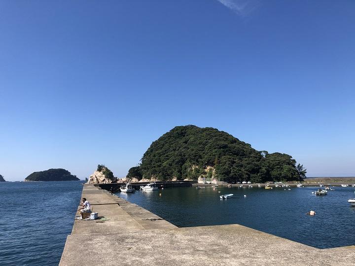 小橋漁港(京都・舞鶴)の釣り場情報 大波止11
