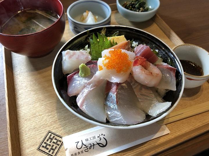 京都の釣り場で美味いメシ!京丹後・間人漁港で食べる海鮮丼!