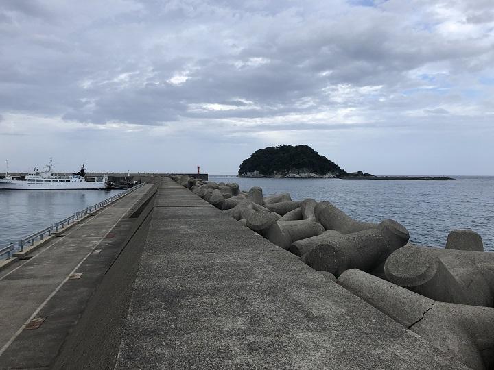 香住東港(兵庫・香住)の釣り場情報 波止