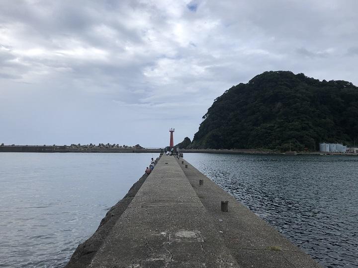 香住西港(兵庫・香住)の釣り場情報