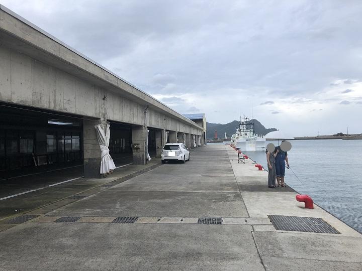 香住西港(兵庫・香住)の釣り場情報 堤防