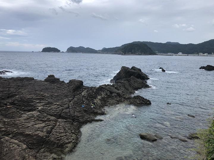 地蔵鼻(兵庫・香住)の釣り場情報 東側地磯