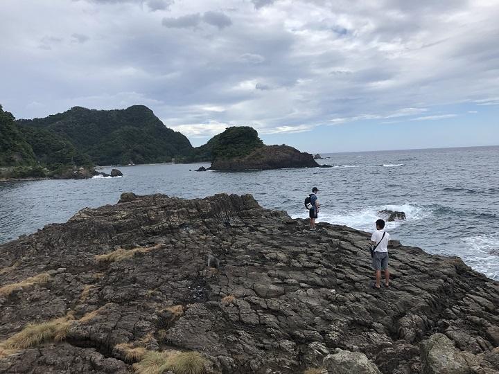 地蔵鼻(兵庫・香住)の釣り場情報 西側地磯