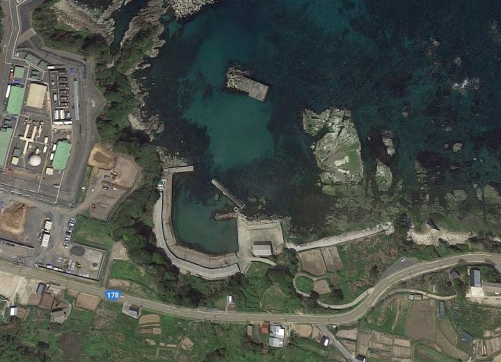 袖志漁港(京都・京丹後)の釣り場情報