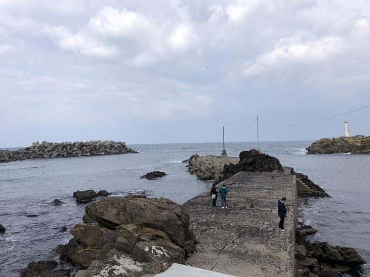 釣りファミ 間人漁港(京都・京丹後)の釣り場情報 小波止(学校下)