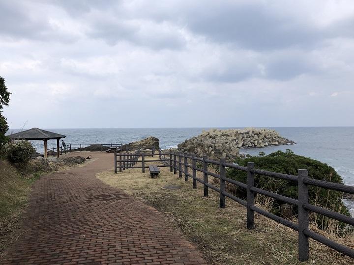 ミ 間人漁港(京都・京丹後)の釣り場情報 展望台