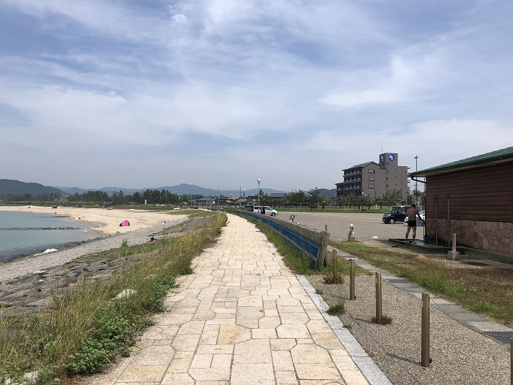 八丁浜シーサイドパーク(京都・京丹後)の釣り場情報 サーフ