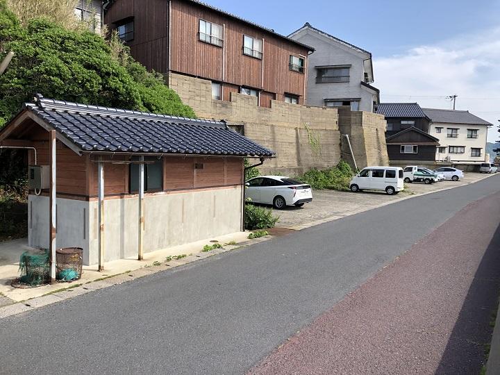 釣りファミ 城島公園・小間漁港(京都・京丹後)の釣り場情報 トイレ