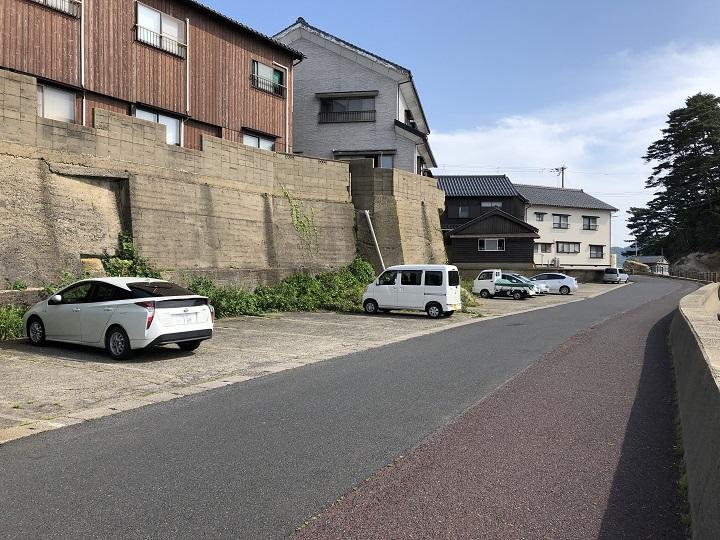 釣りファミ 城島公園・小間漁港(京都・京丹後)の釣り場情報 駐車場