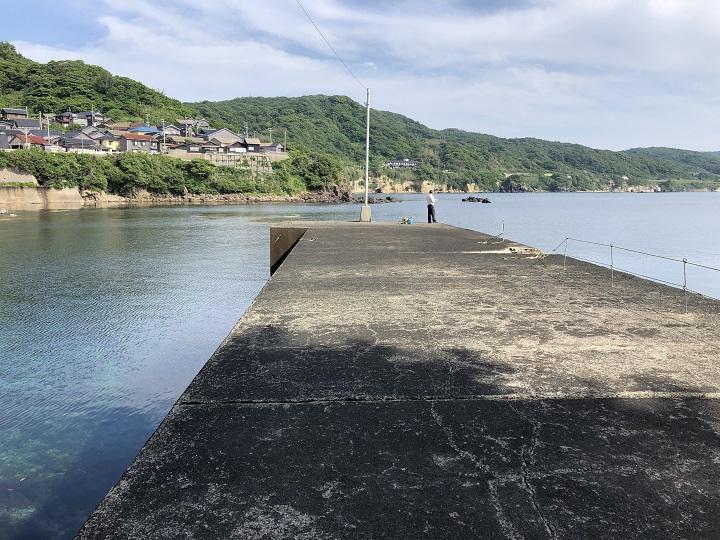 釣りファミ 城島公園・小間漁港(京都・京丹後)の釣り場情報 第一小波止