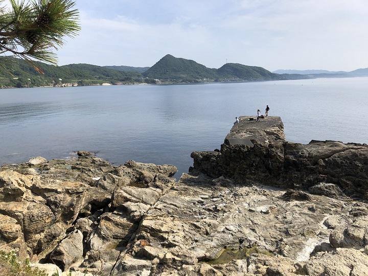 釣りファミ 城島公園・小間漁港(京都・京丹後)の釣り場情報 第二小波止