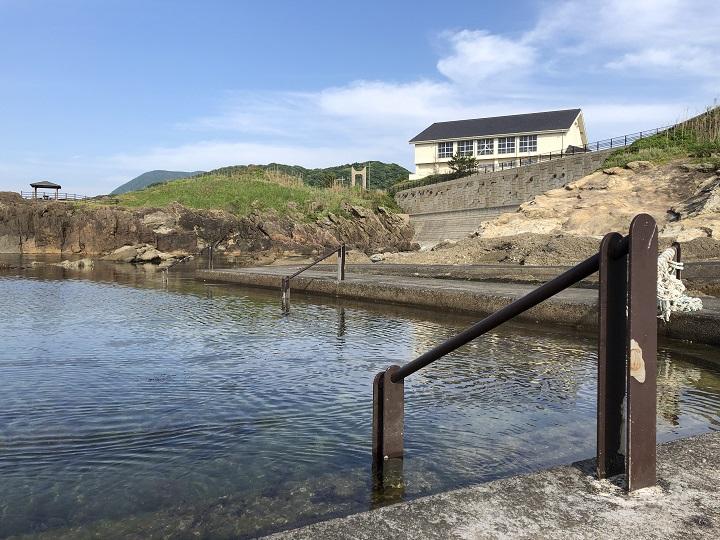 ミ 間人漁港(京都・京丹後)の釣り場情報 親水プール