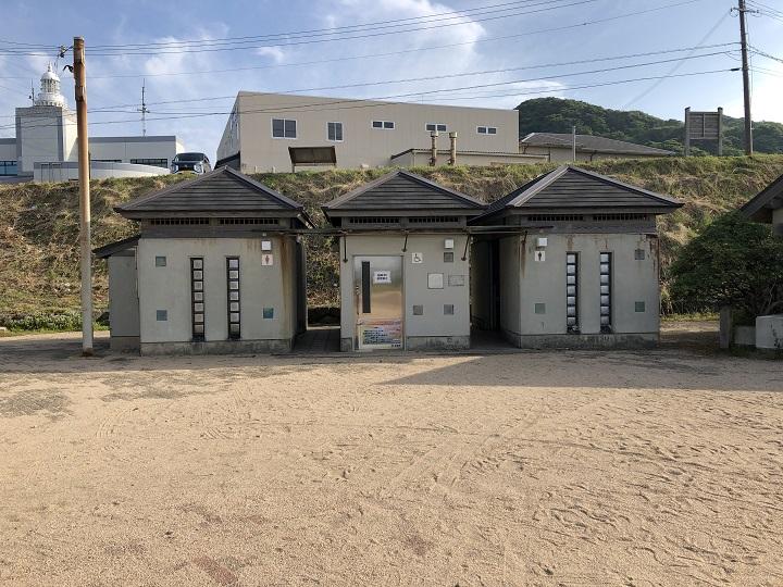後ヶ浜(京都・京丹後)の釣り場情報 トイレ