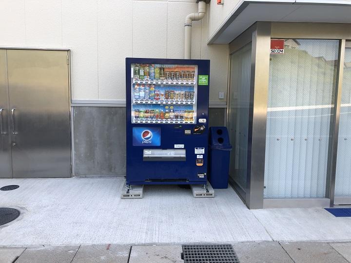 ミ 間人漁港(京都・京丹後)の釣り場情報 自動販売機