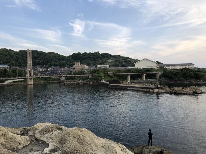 釣りファミ 間人漁港(京都・京丹後)の釣り場情報 白灯台