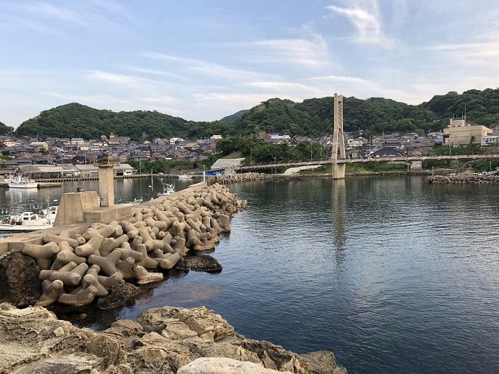 ミ 間人漁港(京都・京丹後)の釣り場情報