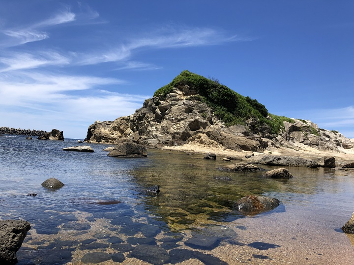 立岩後ヶ浜海水浴場(京都・京丹後)の釣り場情報