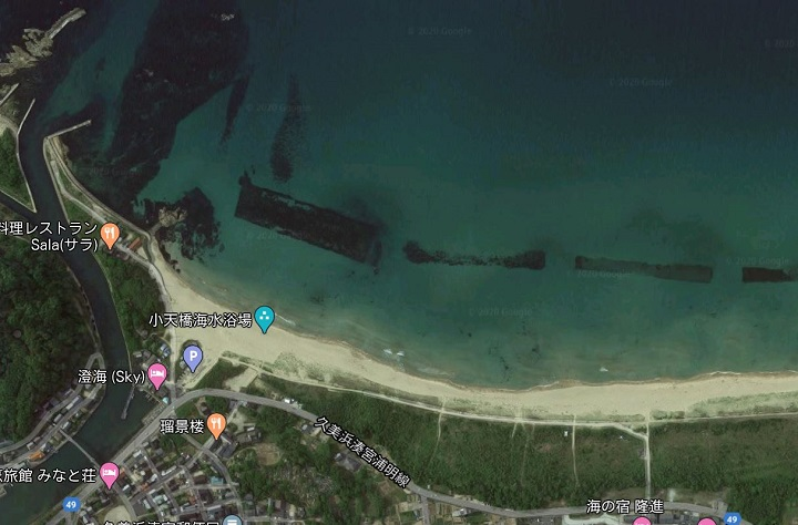 小天橋・葛野浜海水浴場(京都・京丹後)の釣り場情報