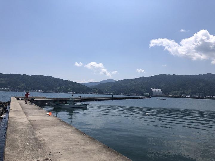 7月梅雨の合間の京都釣行!伊根・宮津・舞鶴のファミリーフィッシングにオススメの釣り場めぐり 天橋立市場前