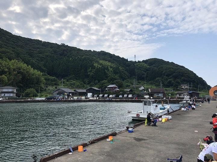 7月梅雨の合間の京都釣行!伊根・宮津・舞鶴のファミリーフィッシングにオススメの釣り場めぐり 白杉漁港