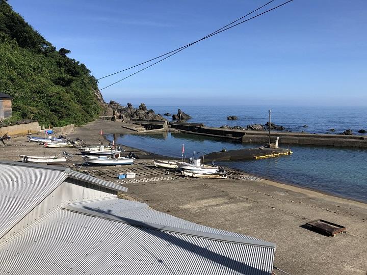 釜屋漁港(兵庫・新温泉町)の釣り場情報 但馬エリア