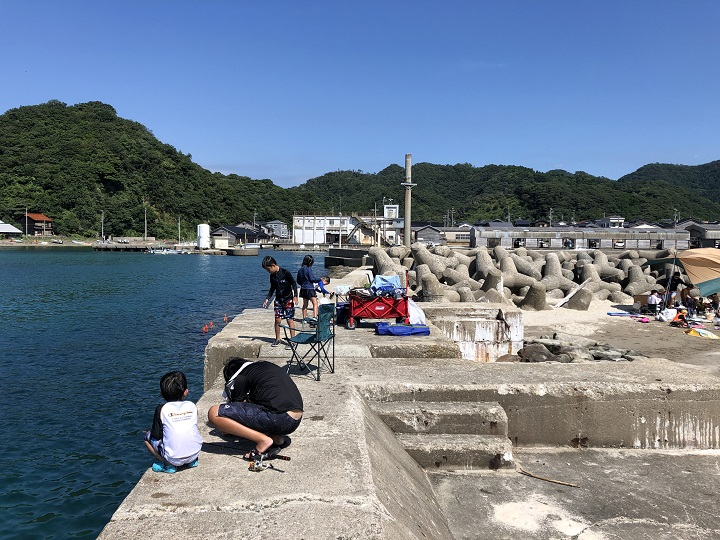 居組漁港(兵庫・浜坂)の釣り場情報 但馬エリア