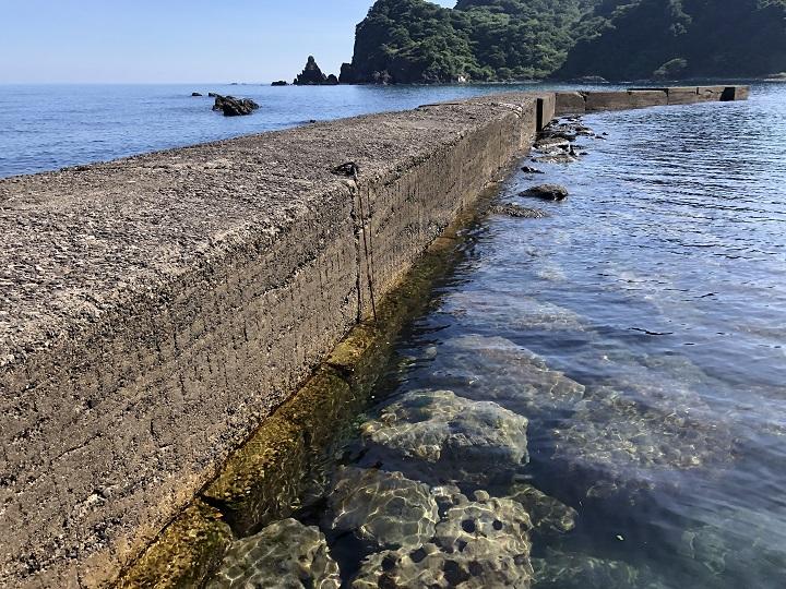 釜屋漁港(兵庫・浜坂)の釣り場情報 但馬エリア
