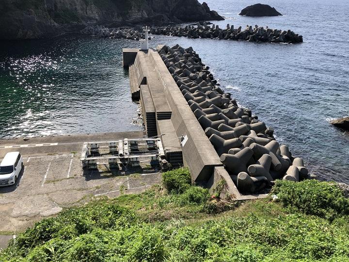 三尾漁港(兵庫・浜坂)の釣り場情報 但馬エリア 小三尾港